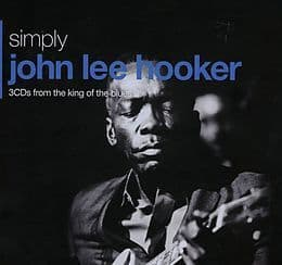 John Lee Hooker<br>Simply John Lee Hooker (3CDs From The King Of The Blues)<br>3CD, Comp + Boxset